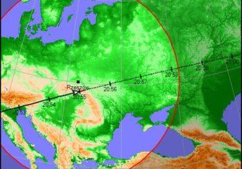 Wieczór MOS ze stacją kosmiczną ISS